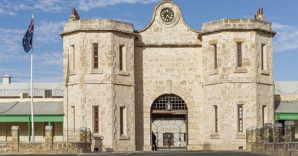 Fremantle / historisches Fremantle Gefängnis