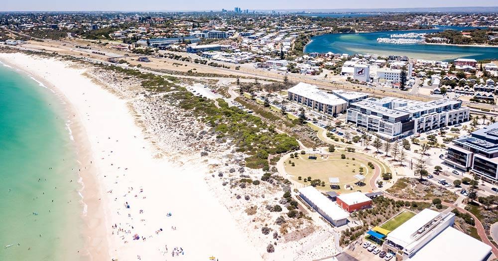 Fremantle / Luftaufnahme von Fremantle