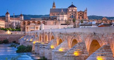Córdoba / Römische Brücke und Guadalquivir
