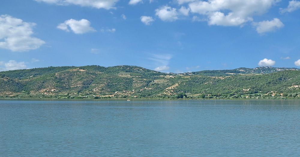 Trasimenischer See / Panoramablick über den Trasimenischer See