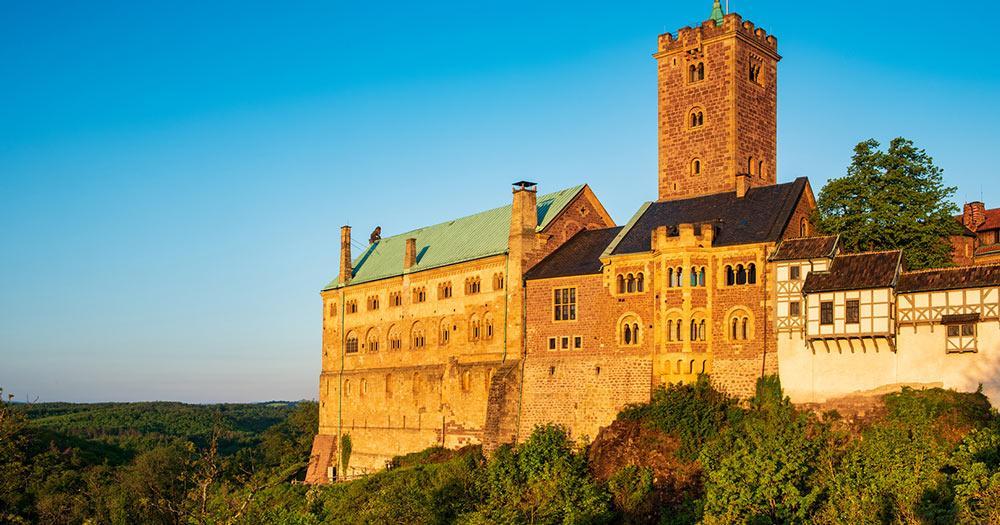 Eisenach / die Wartburg