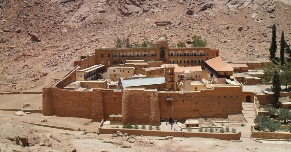 Sharm el Sheikh - Katharinenkloster am Fuße des Berges Sinai