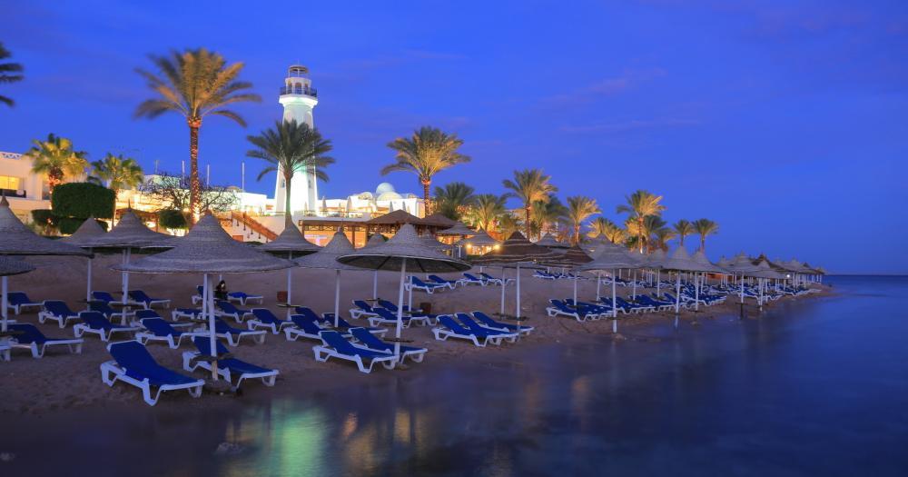 Sharm el Sheikh - Blick auf den Strand