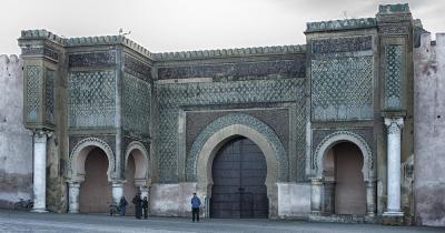Meknès / Bab el Mansour in Meknes