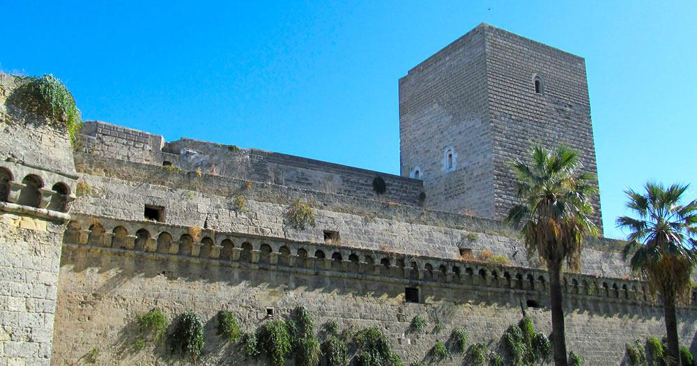 Bari / Schloss Svevo in Bari