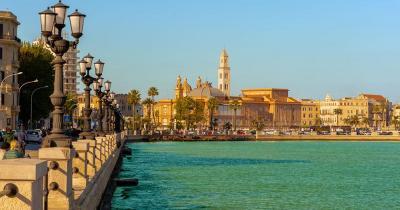 Bari / Panoramablick über Bari
