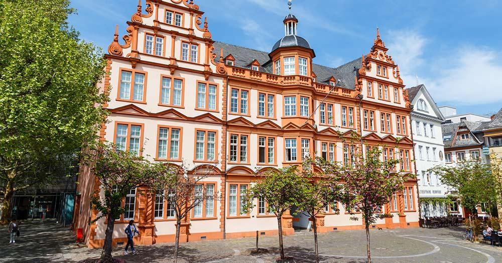Mainz / das Gutenberg-Museum in Mainz