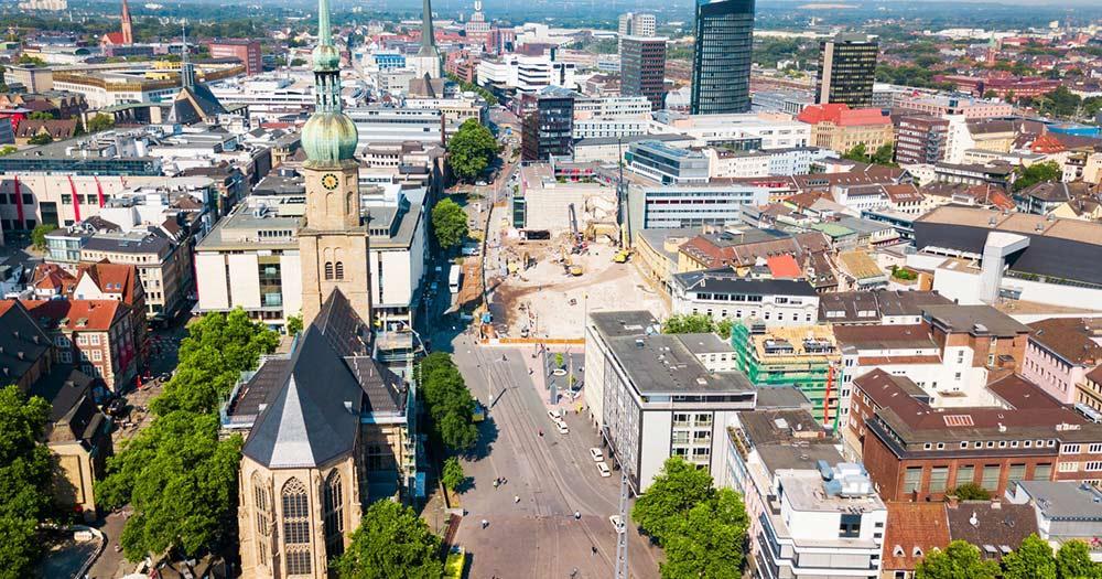 Dortmund / Stadtzentrum von Dortmund