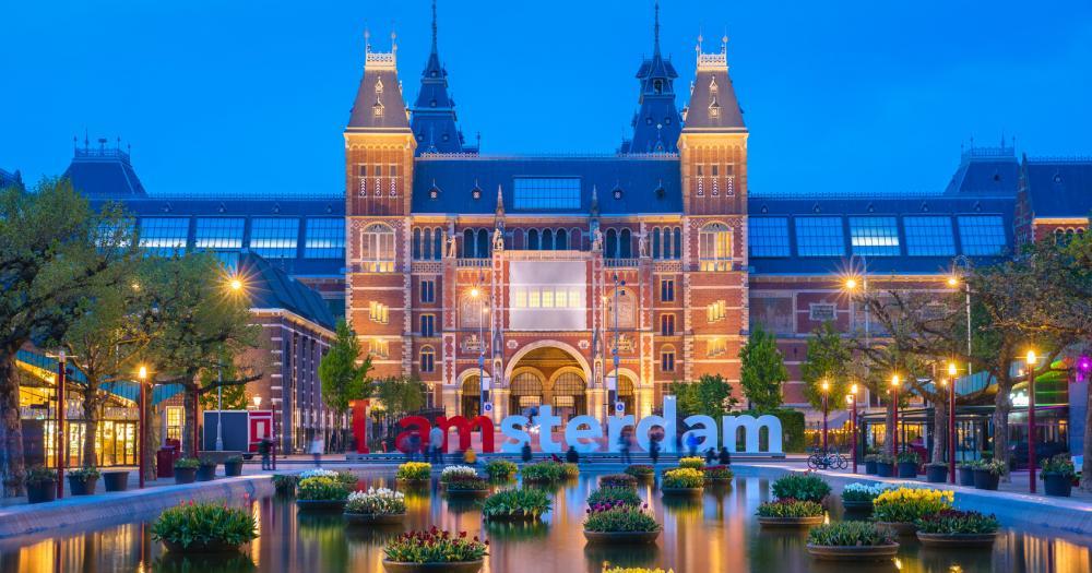 Amsterdam - Blick auf das Rijksmuseum