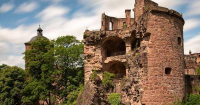 Schloss Heidelberg / Ruinen des Schlosses Heidelberg
