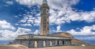 Capelinhos / der Leuchtturm von Capelinhos