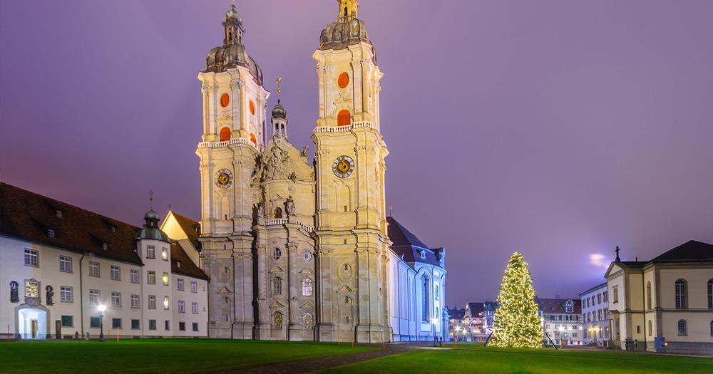 St. Gallen / Kathedrale in St. Gallen
