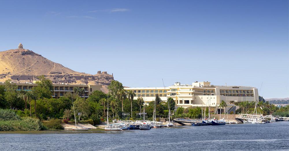 Assuan / der Nil in Assuan