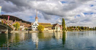 Stein am Rhein / Blick auf Stein am Rhein
