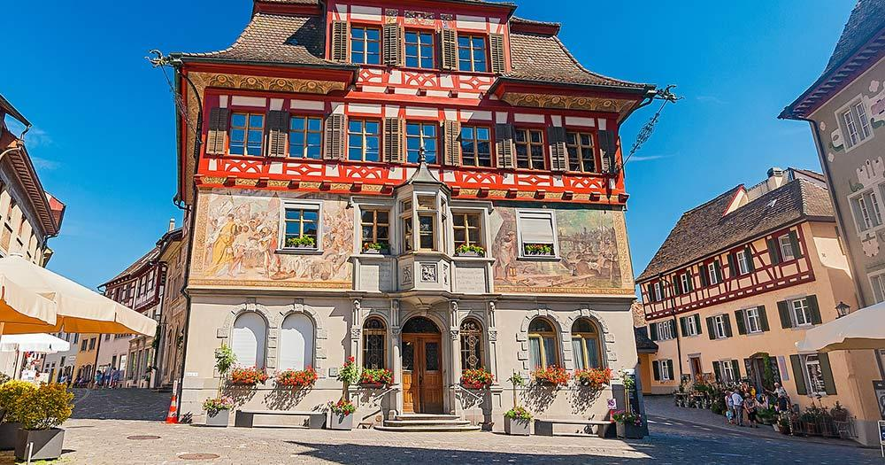 Stein am Rhein / Altes Rathaus von Stein am Rhein