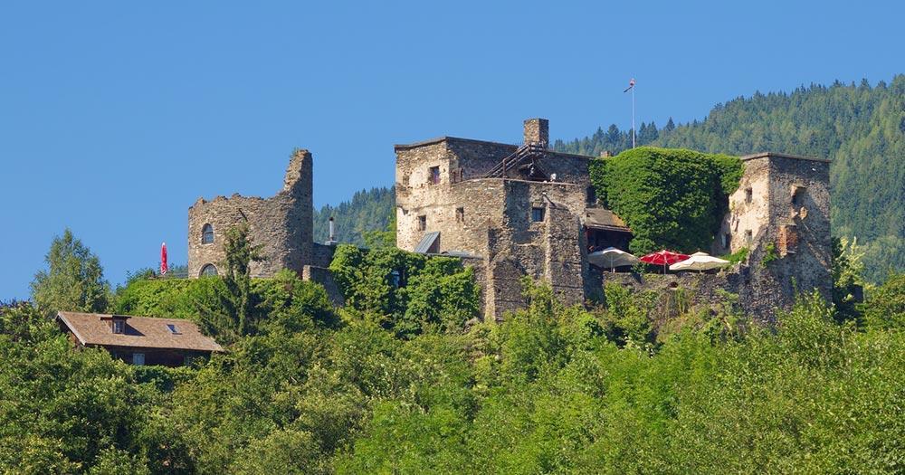 Millstätter See / Burgruine Sommeregg
