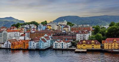 Stavanger / Panoramaaufnahme von Stavanger