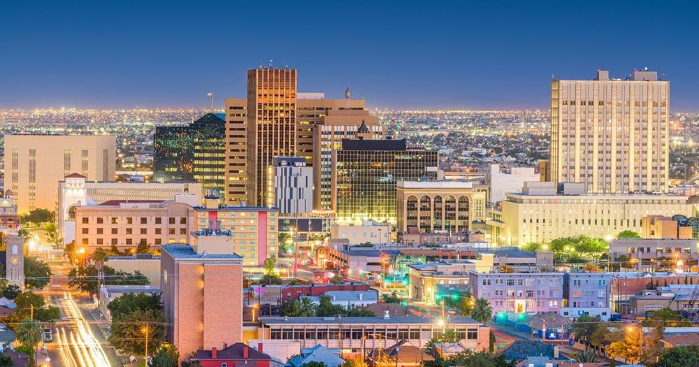 El Paso / El Paso bei Nacht