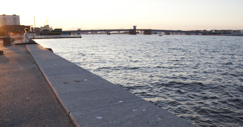 Aalborg / der Hafen von Aalborg