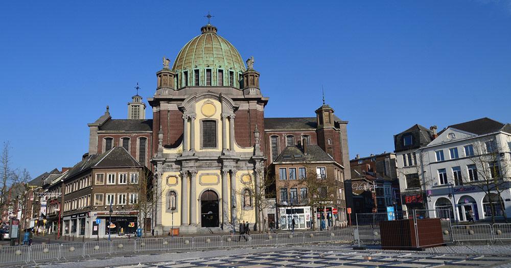 Charleroi /  Eglise Saint Christophe