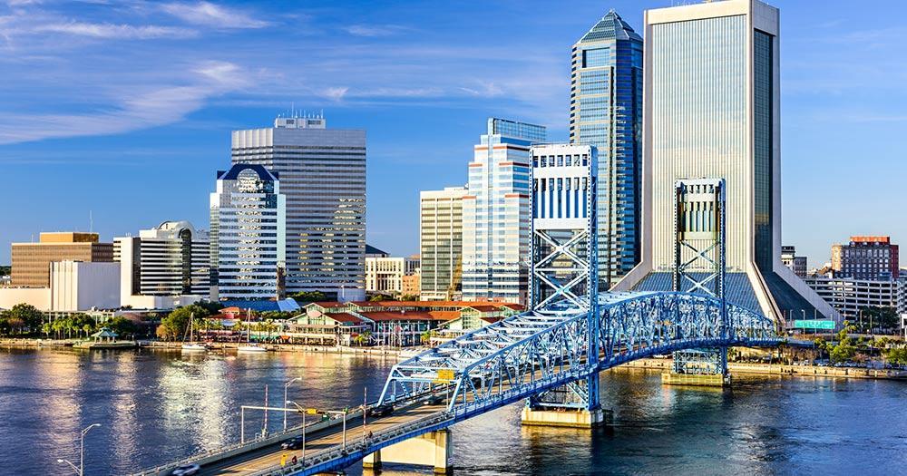 Jacksonville / Panoramablick von Jacksonville