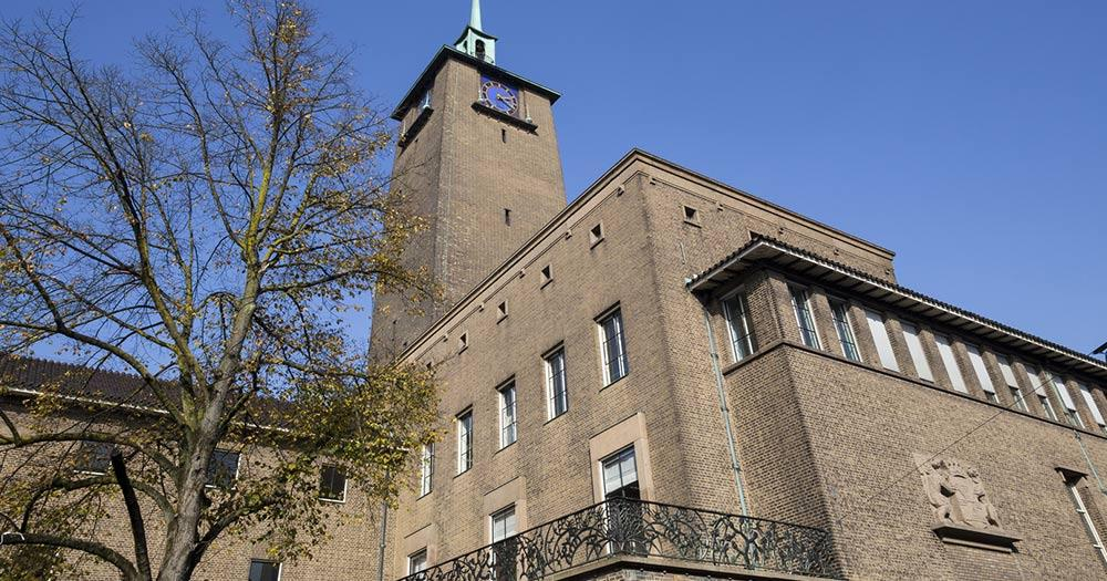 Enschede / eine Kirche in Enschede