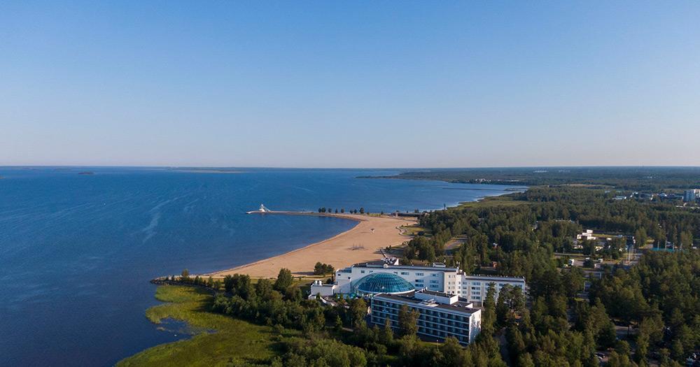 Oulu / der Nallikari Strand