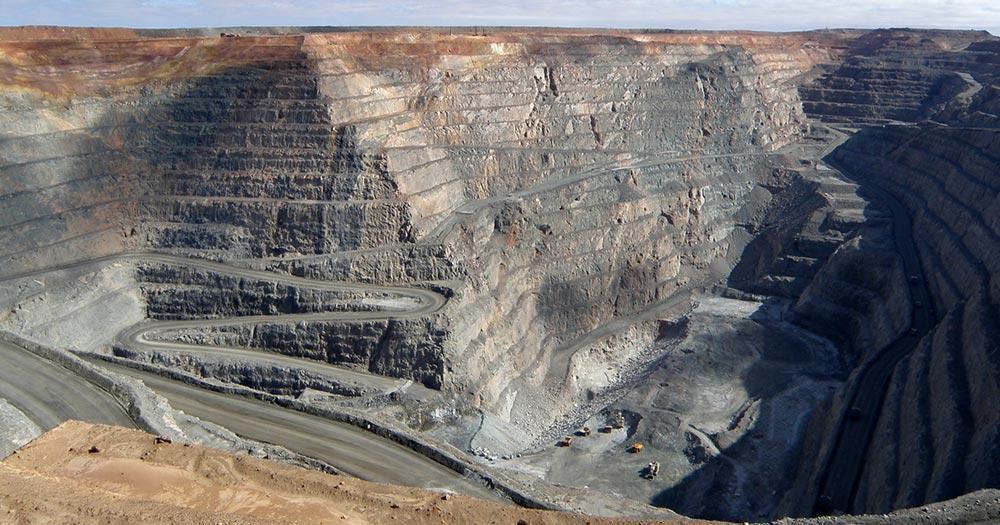Kalgoorlie / die Mine Super Pit