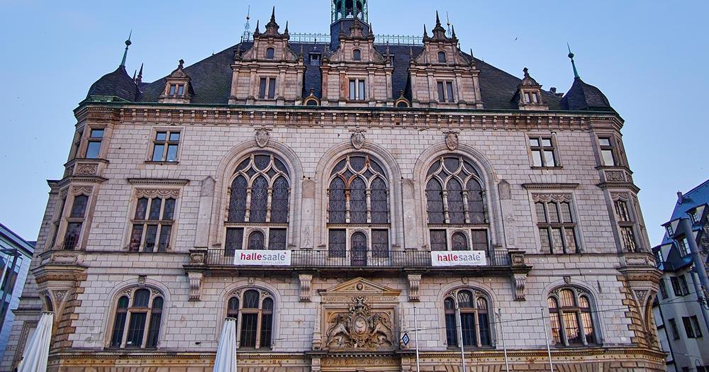 Halle / Halle ein der Saale-Rathaus
