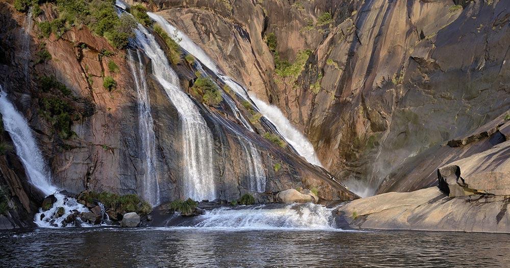 A Coruña / Ezaro Wasserfall in A Coruña