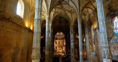 Mosteiro dos Jerónimos / Mosteiro dos Jerónimos von Innen