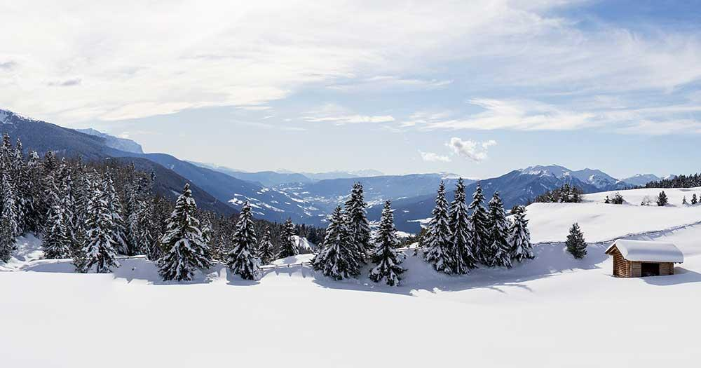 Gitschberg Jochtal - Winterberge im Tiefschnee
