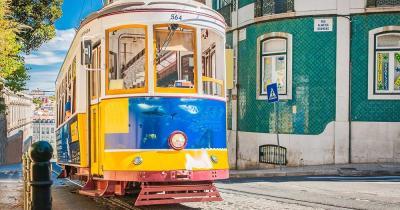 Eléctrico 28 / Die historische Straßenbahnlinie 28 von Lissabon