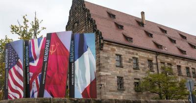 Memorium Nürnberger Prozesse / das Memorium Nürnberger Prozesse