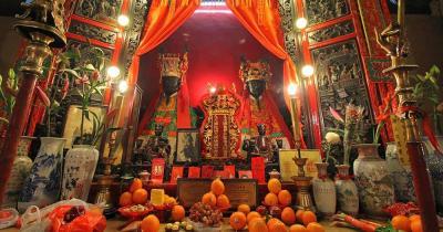 Man Mo Tempel / der Man Mo Tempel