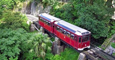 Peak Tram / eine Peak Tram