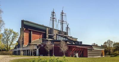 Vasa-Museum / das Vasa-Museum von außen