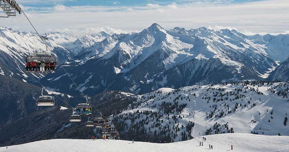 Mayrhofen - Winterpanorama