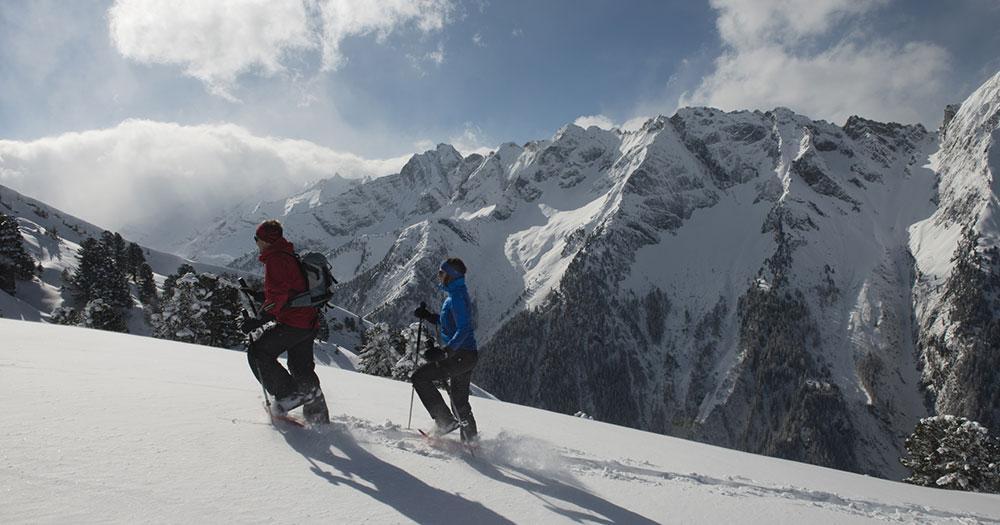 Mayrhofen - Eine Schneewanderung im Tiefschnee