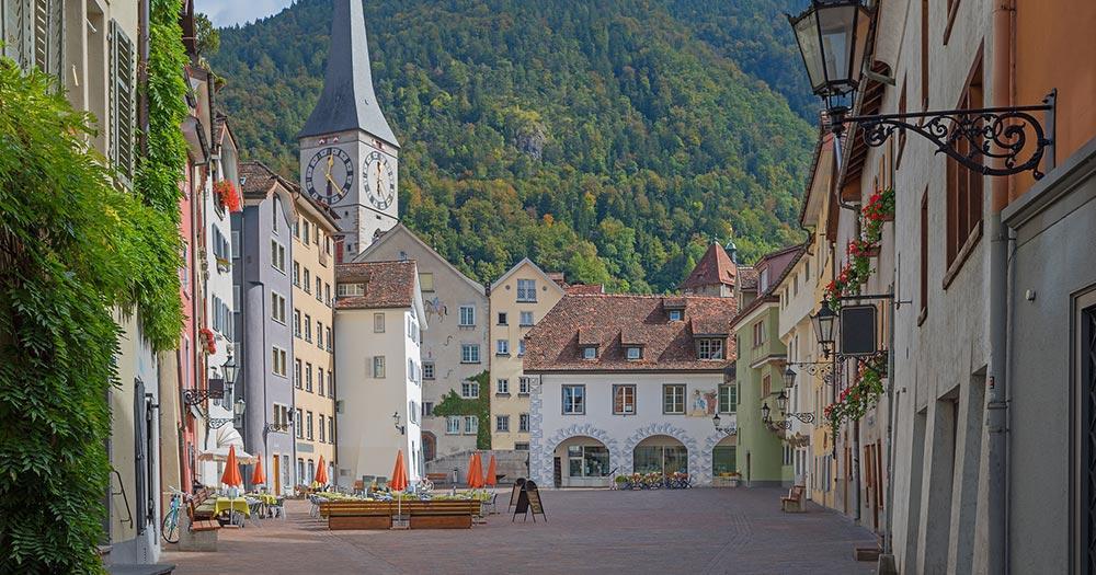 Chur / die Altstadt