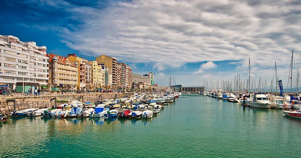 Santander / Hafen von Santander
