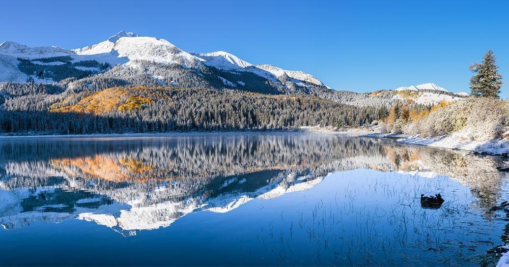 Aspen - Winter Seenlandschaft