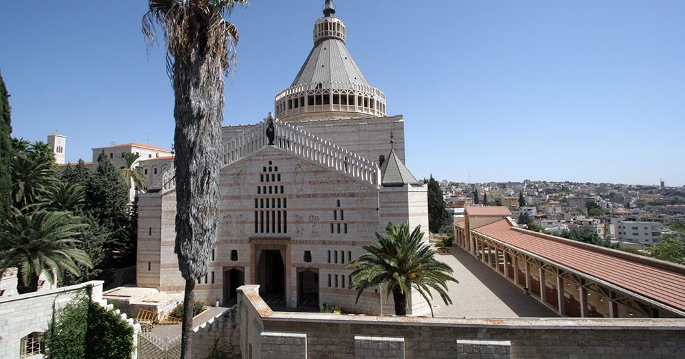 Nazaré / Basilika von Nazaré