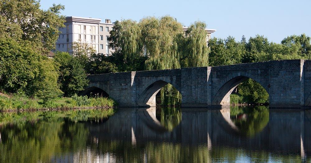 Limoges / St. Etienne's bridge in Limoges