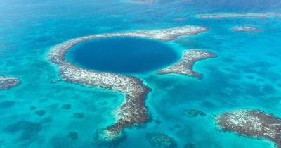 Belize / Blaues Loch in Belize