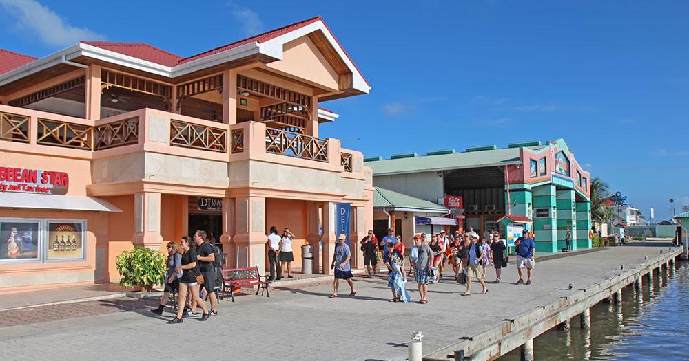 Belize / Einkausläden in Belize