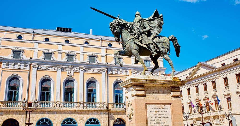 Burgos - Cid Campeador Statue