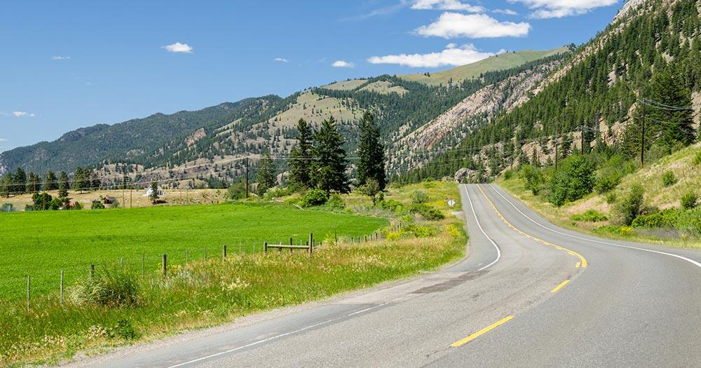 Highway 3 - Highway 3 in British Columbia, Kanada
