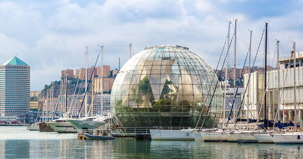 Genua - Biosphäre in Genua