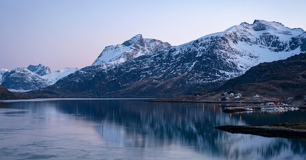 Arctic Coast Way / Arctic Coast Way im Winter